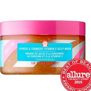 2/$40 First Aid Beauty Ginger & Turmeric Face Mask